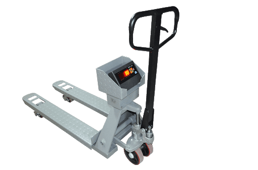 Scaled hand pallet truck