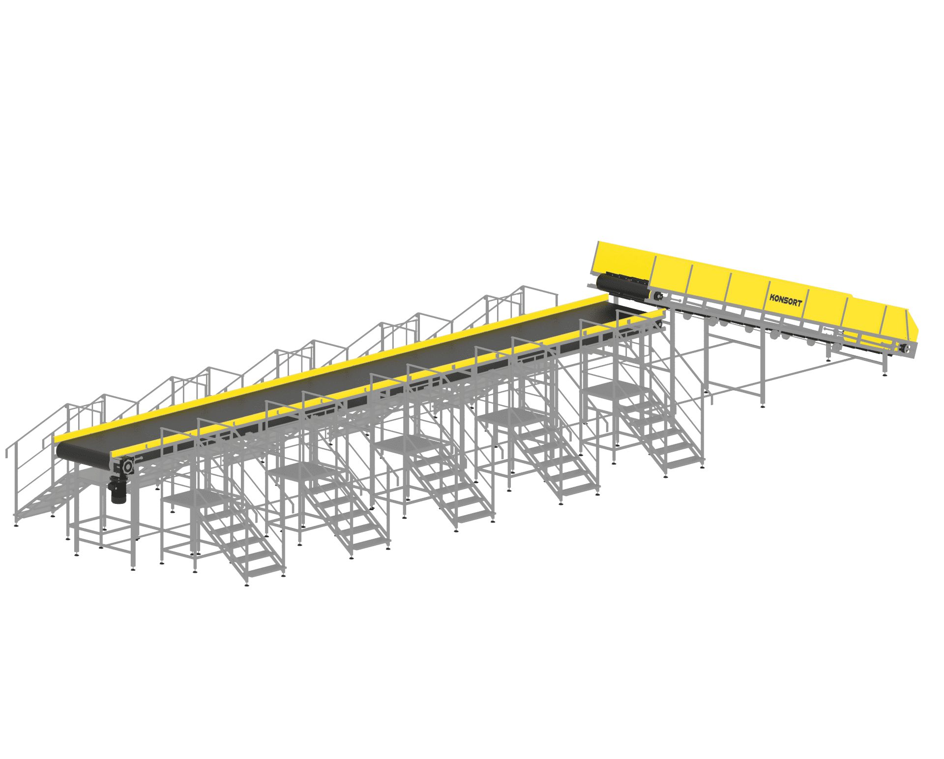 Oversize sorting line (over 60 kg)