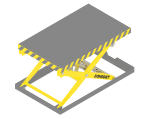 Lifting platform (table)