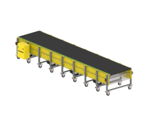 Driven roller conveyor pantograph