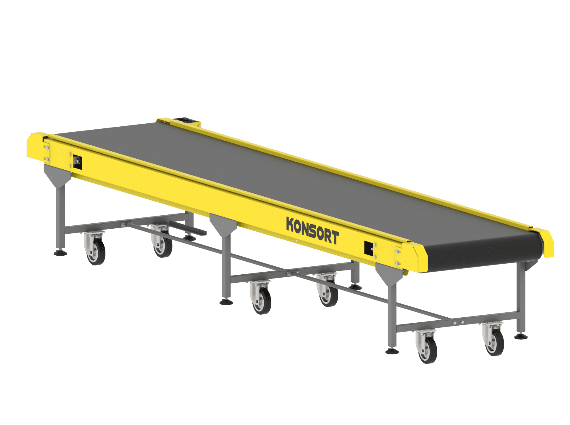Straight conveyor belt (5m)