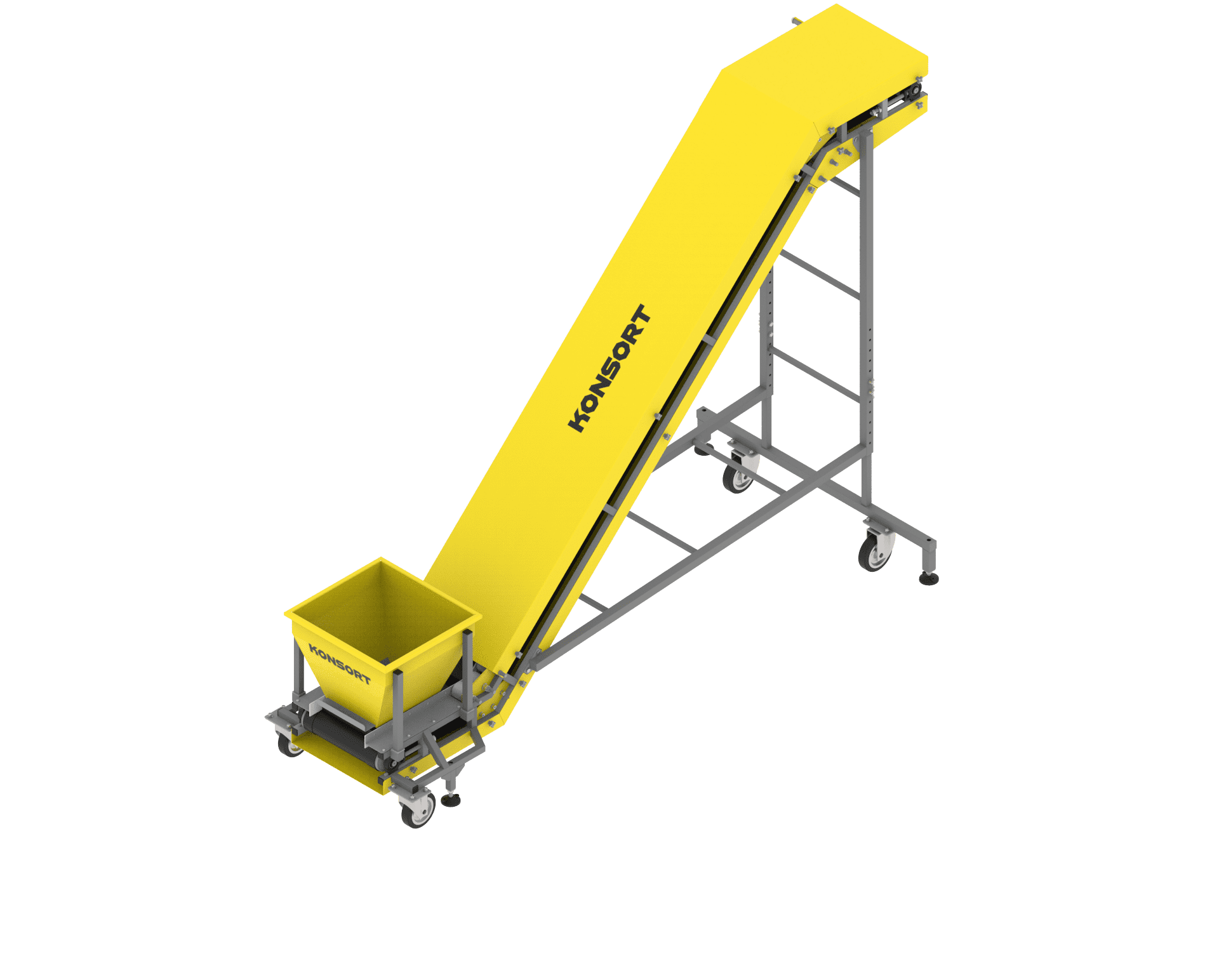 Z-shaped conveyor