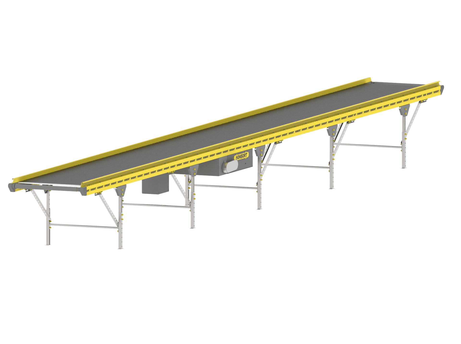 Straight horizontal line conveyor (3m)