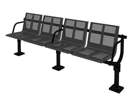 Stops, benches, parking lots and stations