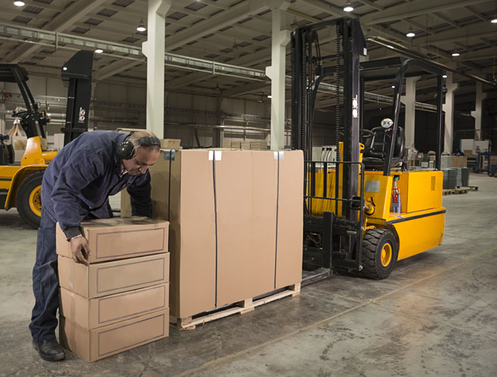 Maintenance of warehouse equipment and machinery (pallet trucks, stackers, reach trucks, and loaders)