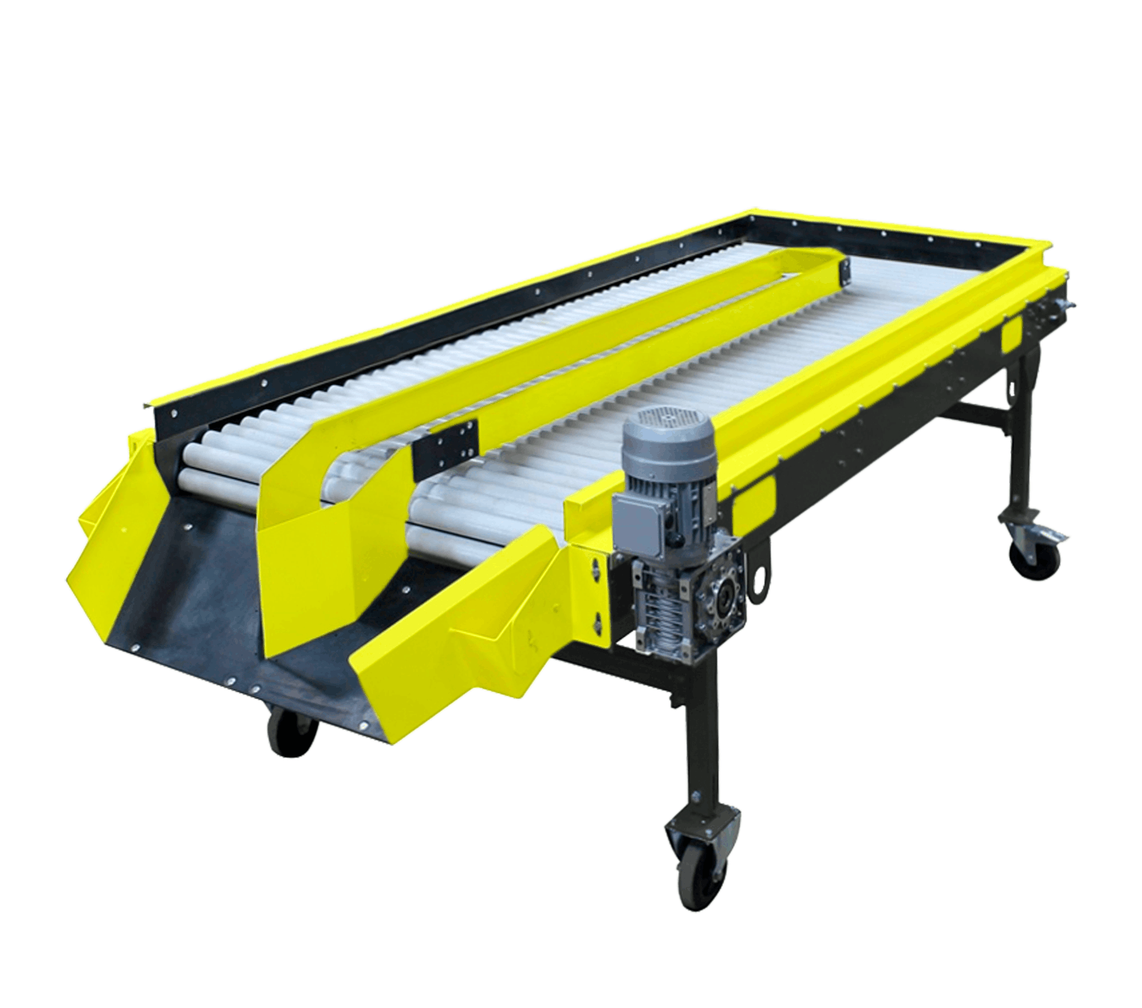 Inspection roller table