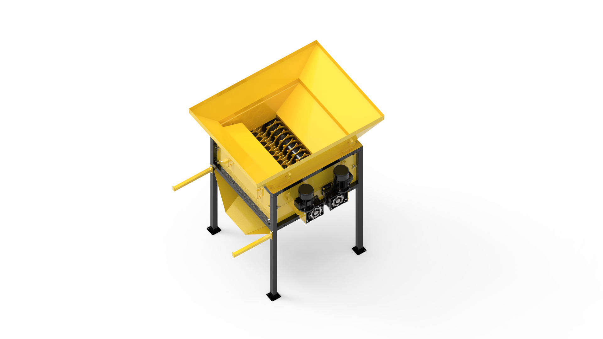Perforator for bags and plastic bottles (for press and plastic processing)